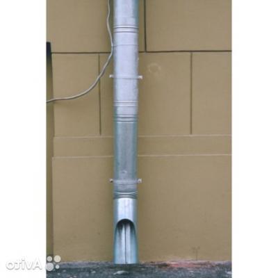 Труба водосточная оцинкованная d100ммx1 ...